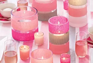 裝飾蠟燭玻璃杯