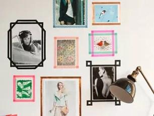 就算是在外租屋也不用害怕☆一起用紙膠帶讓牆壁變美吧!