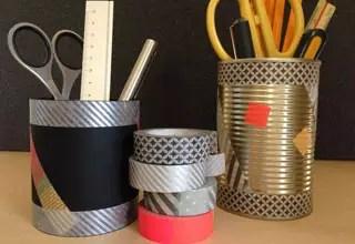 裝飾鋁罐筆桶