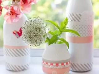 裝飾白色花瓶