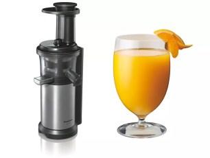 連水果冰沙都能做的Panasonic低速榨汁機