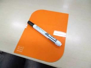 桌子就是便條紙,能寫能擦的「dokodemo memo」