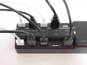 一次能充10台智慧手機或相機等裝置,最大15a的USB充電器