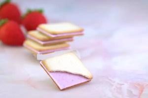 真紅草莓的貓舌餅乾-2