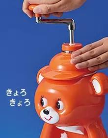 日本虎牌 眼睛會轉來轉去的刨冰器「KYORO醬」發售復刻版