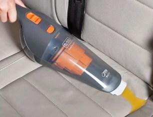日本black+decker(百得),4款接在車內點菸器使用的,車內手持式吸塵器