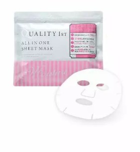 QUALITY 1ST  ALL IN ONE SHEET MASK(早晨專用包)
