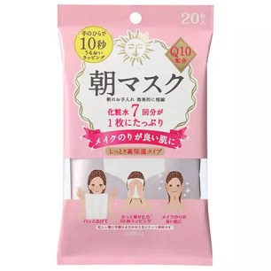 mandom 保濕型早晨臉用濕巾