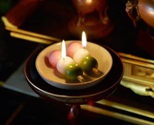 與Kameyama蠟燭合作・喜好的食物系列。
