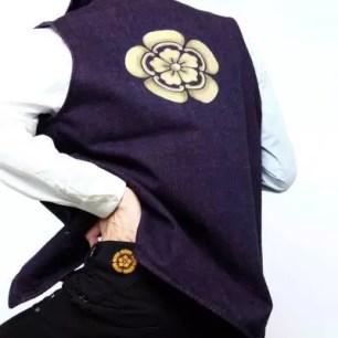 紮實的陣羽織風格!以織田信長作為設計主題的丹寧背心&單寧牛仔長褲