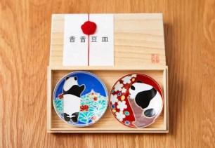 上野動物園的貓熊寶寶♡香香要滿一歲囉~精緻的九谷燒『香香豆皿』限定販售!