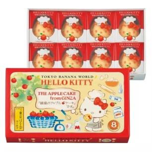 東京香蕉xHello Kitty♡『銀座的蘋果蛋糕』7月25日起大丸東京店期間限定特別販售!