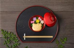 金澤老舖「加賀麩不室屋」與三麗鷗的聯名商品♡「Hello Kitty 寶之麩」