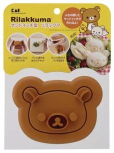自製可愛造型的鹹食或甜品☆「貝印 三明治模具 懶懶熊Rilakkuma」