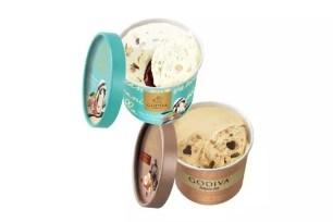日本便利商店數量限定♬歌帝梵(GODIVA)杯裝冰淇淋雙口味新登場