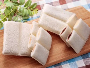 LAWSON STORE 100與山崎麵包聯名推出新經典☆雙重口味LUNCH PACK♪夾心吐司