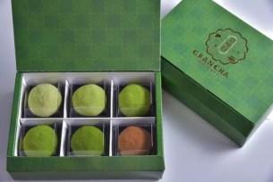 5種不同濃度層次的抹茶大福♡奈良‧新開幕「大和茶大福 專售店 GRAN CHA」