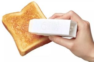 在家享用吐司抹奶油不再忙亂♪小久保工業日本製「直接塗奶油便利棒」