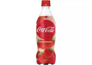 冬季水果草莓x可口可樂☆日本限定「Coca・Cola STRAWBERRY」2020/1/20起限期販售