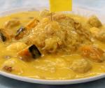 小樽[中華食堂 龍鳳]の幸せの黄色いあんかけ焼そば