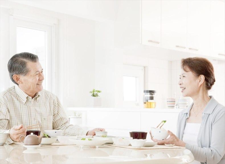 腎臓病の食事療法をしている夫婦