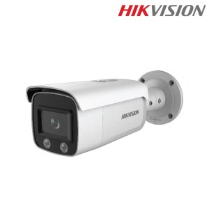 "Hikvision IPC DS-2CD2T47G1-L 4MP ColorVu Fixed Bullet Network Camera กล้องวงจรปิด Hikvision IP Camera ทรงกระบอก กล้องวงจรปิด IP Camera ความละเอียด 4MP รองรับ PoE Image Sensor ขนาด 1/1.8"" Progressive Scan CMOS ความไวแสง 0.0014Lux@(F1.0,AGC ON), 0 Lux with Light ระบบวัดแสงแบบ IR Cut filter with auto switch อัตราเฟรมเรทที่ 30fps @ 4MP (2688x1520) รองรับระบบบีบอัดแบบ H.265 / H.265+ / H.264 / H.264+ BLC / 3D DNR / HLC / ROI / WDR 4 Behavior Analysis / Face Detection ColorVu (24hr Colorful Video ภาพสี 24ชั่วโมง) ขนาดเลนส์ 4mm / มุมมอง 94องศา กลางคืนสูงสุด 30เมตร วัสดุอัลลอย ค่ากันน้ำ IP67 รองรับ PoE (802.3af class 3) น้ำหนัก 1200g สินค้ารับประกัน 3 ปี ราคารวมภาษีมูลค่าเพิ่มแล้ว รับประกันความพึงพอใจ ยินดีคืนเงินภายใน 7วัน บริการจัดส่งด่วนพิเศษฟรีทั่วไทย by Kerry Express Hikvision IP Camera DS-2CD2T47G1-L กล้องวงจรปิดอันดับ 1 ของโลก มาตรฐาน UL สหรัฐอเมริกา First choice for security professionals"