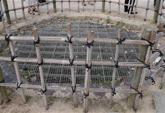 姫路城本丸の井戸