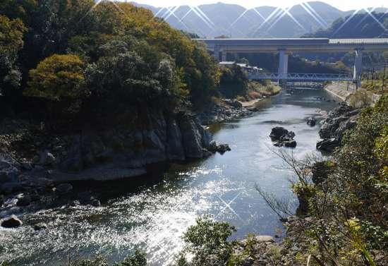 武田尾廃線風景