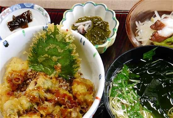 淡路島グルメ タコの天ぷら