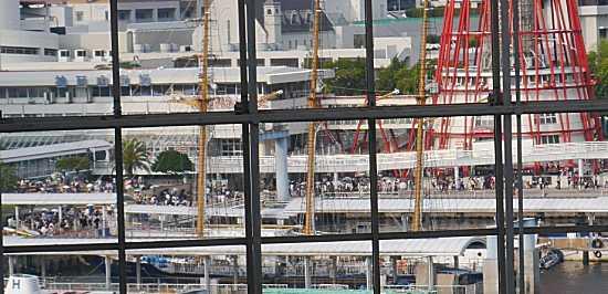 神戸花火メリケンパーク会場