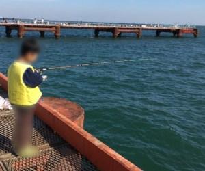 子供魚釣りライフジェケット