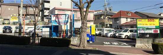 六甲八幡神社 駐車場