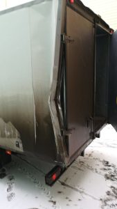 ремонт сендвич фургона
