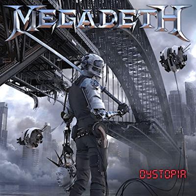 megadeth - DYSTOPIA アルバム