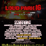 LOUD PARK 16  第4弾 出演バンド・アーティスト発表