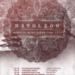 NAPOLEON 来日 JAPAN TOUR 2016