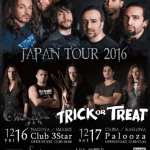SECRET SPHERE – TRICK OR TREAT 来日 JAPAN TOUR 2016