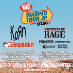 「Vans Warped Tour Japan 2018 presented by XFLAG」最終ラインナップが発表