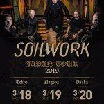 SOILWORKの来日公演が3月に決定 「JAPAN TOUR 2019」