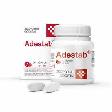 Купить Адестаб для лечения сосудов и улучшения эластичности сосудов