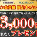 ニッセン ラッキーナンバー3000円