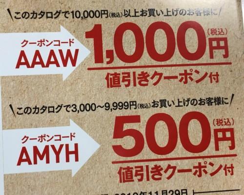 ニッセンクーポン1000円