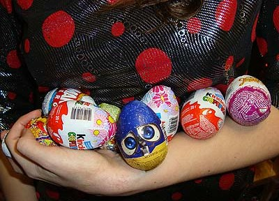 Про шоколадные ыйца :)