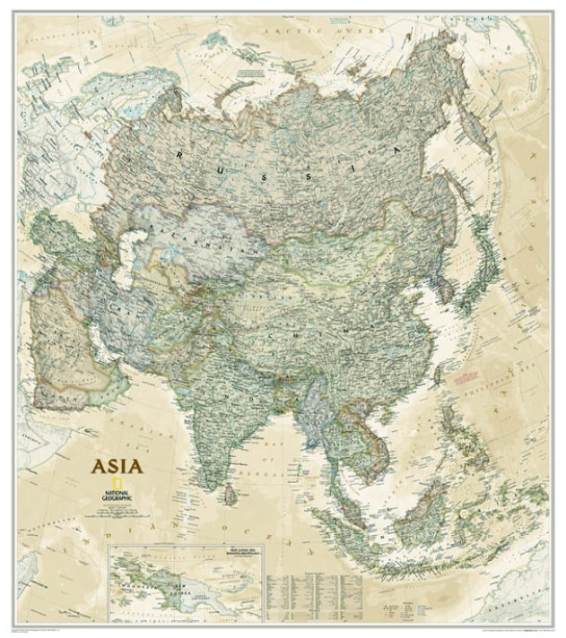 Asia Earth-toned 1