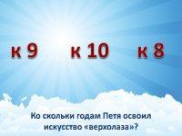 "Викторина по книге Анатолия Маркуши ""Человек-птица"""