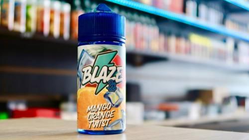 Жидкость Blaze on ice mango orange twist