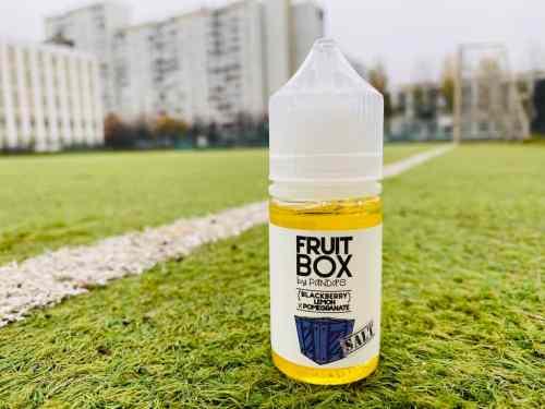 Жидкость Fruit Box Salt Blackberry Lemon Pomegrante вкусипар.рф