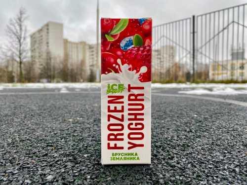 Жидкость Frozen Yoghurt Брусника земляника вкусипар.рф