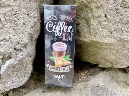 Жидкость Coffe-in Salt Ginger Latte вкусипар.рф
