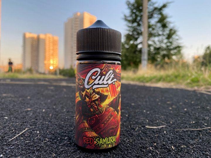 Жидкость Cult Red Samurai вкусипар.рф